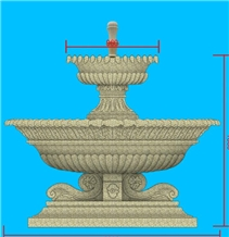 Handcarved Marble Granite Water Fountains