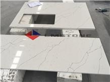 Artificial Stone Quartz Kitchen Countertops