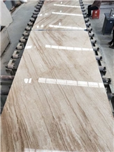 Bookmatched Daino Reale, Daino Beige Marble Slabs