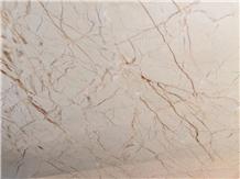 Luna Pearl Marble Slabs