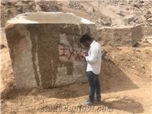 Rose Gold Granite Block, India Gold Granite