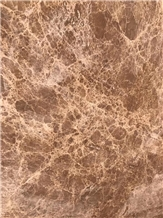 Light Emperador Marble Stone Slabs Tiles Wall