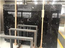 Ice Black Marble Slab& Marble Tile