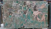 Amazon green quartzite polished slabs tops tiles