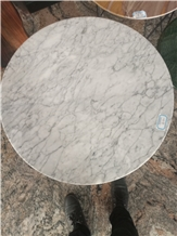 Arabescato Corchia Marble Round Table