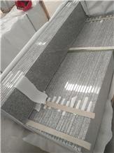 Grey Granite White Granite G603 Step Riser