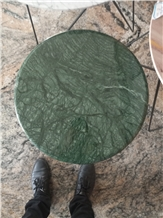 Verde Guatemala Dark Green Marble Table Top