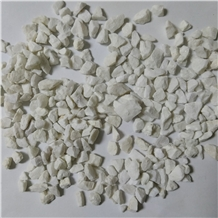 White Marble Crushed Stone Chips Aggregates