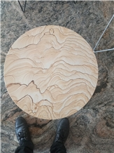 Yunnan Scenery Sandstone Table Top