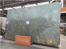 Chinese Green Granite Slabs Tiles