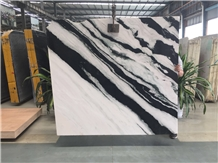 Hot Sale Panda White Marble Slabs from Ice Stone