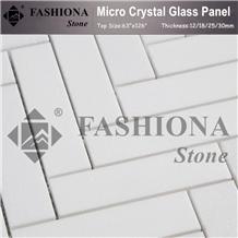 Pure White Marble Stone Mosaics