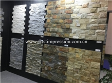 China Slate Stone/Culture Stone for Interior