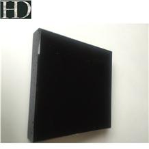 Black Nano Slabs and Tiles Stone