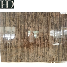 China King Gold Coast Brown Marble Slabs and Tiles