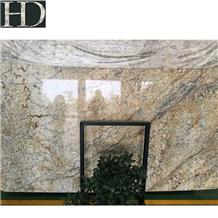 Chinese Golden Granite Slabs Tiles