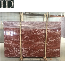 Violet Red Marble/White Siwen Brown Line Bottom