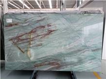 Botanic Imperial Green Quartzite Stone Slab