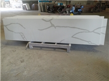 Commercial Calacatta Artificial Stone Countertops