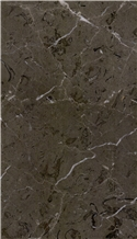 Avid Dark Grey Marble Slabs, Tiles
