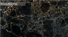 Black Marshal Marble Slabs