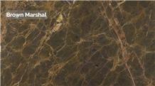 Brown Marshal Marble Slabs