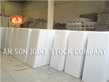 High Quality White Marble 40x80x3 cm