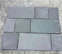 China Grey Slate Paving Covering Stone