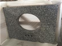 China Swan White Granite Vanity Tops