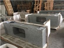 Swan White Granite Kitchen Countertops,Prefab Tops