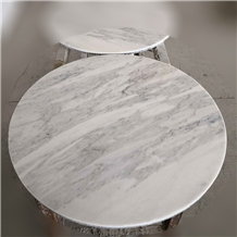 Carrara White Marble for Kitchen Table Top