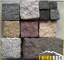 Driveway Paving Granite Cube Stone Cobblestones