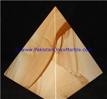 Marble Pyramids Teakwood Burmateak Marble