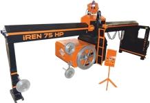 IREN 75 HP Marble Bridge Type Quarry Wire Saw Machine