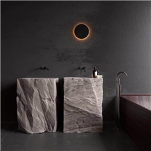 Marble Basins with Natural Surface