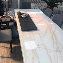 Spider White Onyx Countertop Table Top