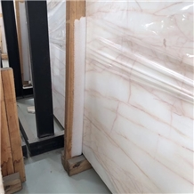 Spider White Onyx Slab