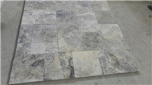 Silver Travertine Slabs and Tiles