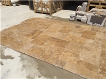 Walnut Travertine Tiles and Slabs