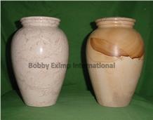 Verona Beige Marble Cremation Urn