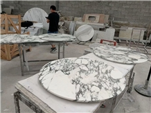 White Marble Countertop,Desk Top