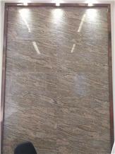 Juparana Wave Gold Pink Granite Wall Floor Tiles