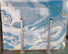 Light Sky Ocean Blue Onyx Walling Tiles Price