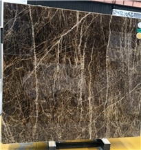 Luxury China Golden Brown Onyx Slab Price