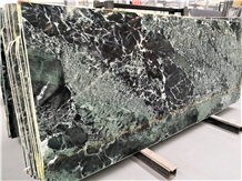 Luxury Italy Verde Saint Denis Green Marble Slab
