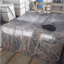 Volcano Red Granite Walling Flooring Tiles