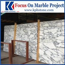 Arabescato Carrara Marble Slabs for Indigo