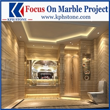 Athent Grey Wooden Grain Marble Slabs&Tiles