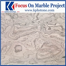 Blue Rose Marble Slabs for Hotel Projects