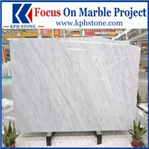 Carrara White Marble for Flooring Tiles